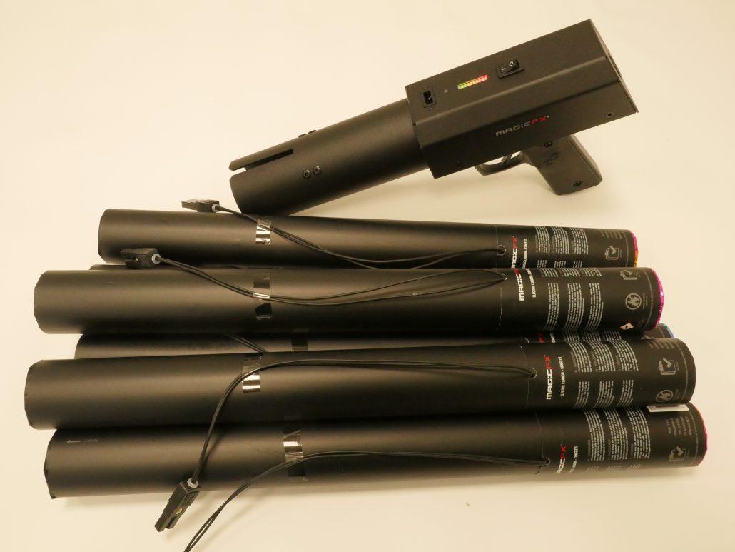 Bühnenbeleuchtung & -effekte Showtec Fx Gun Confetti Kanone Veranstaltungs- & Dj-equipment